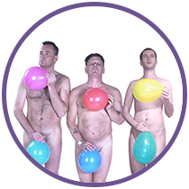 Naked Balloon Dancers Comedy Show