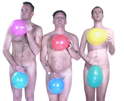 Hire naked balloon dancers - The OddBalls w/ Adrian Doughty