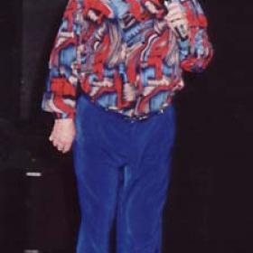 Jimmy Jones comedian, Blue comedian