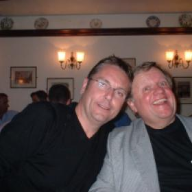 Brian conley with Dave Lee MBE