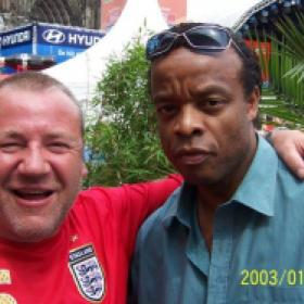 Ray Winston ,Marcus , Great to wittness Ray Rize, First met him at a wedding doing ODD-Balls