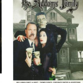 ukcomedian Role In Adams Family