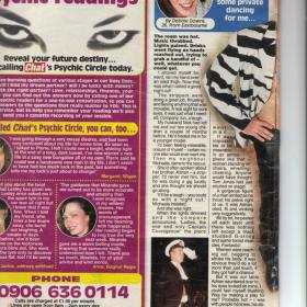 Chat magazine article - page 1
