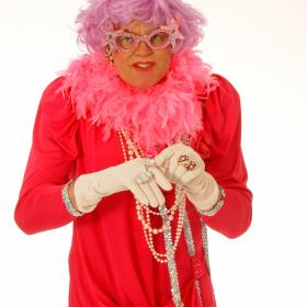 Dame Edna Drag Queen  Act Impersonator