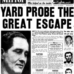 Daily Mirror Front page 9thJuly 1966