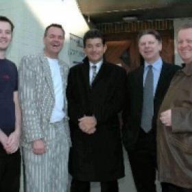 Dave LEE CBE,John Altman ,Danny Blue ,Adrian Doughty,Mark Gale,