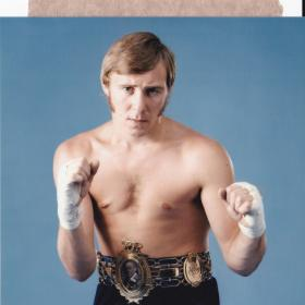 Boxing Dinners, Audiance with Dave Boy Green, John H Stacy, Frank Brouno, Michcal Colins,