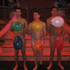 Naked   Balloon Darncers Nottingham