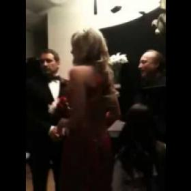 Steph's first wedding